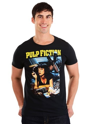 767de932 Miramax Pulp Fiction Poster Men's T-Shirt-update1