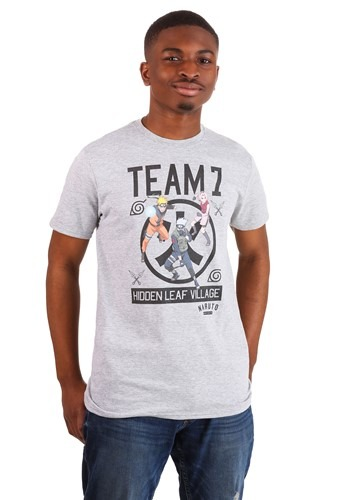 Mens Naruto Team 7 Heather T-Shirt-update1