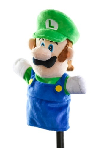 Nintendo Luigi Plush Puppet