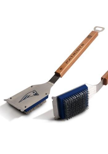 New England Patriots Grill Brush1