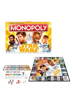 Solo: A Star Wars Story Monopoly Board Game