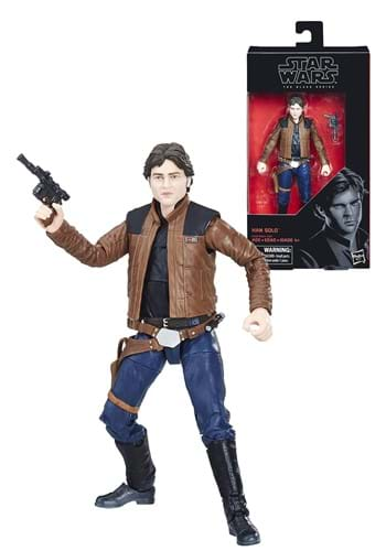"Star Wars Solo The Black Series Han Solo 6"" Action Figure EEDHSE1200"