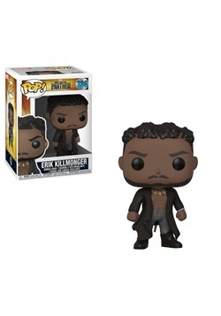 Pop! Marvel: Black Panther- Erik Killmonger w/ Scar