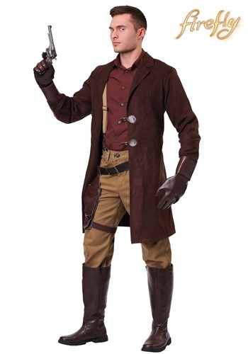 Plus Size Firefly Adult Malcolm Reynolds Costume Update Main
