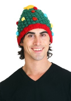 Christmas Tree Knit Hat Update1