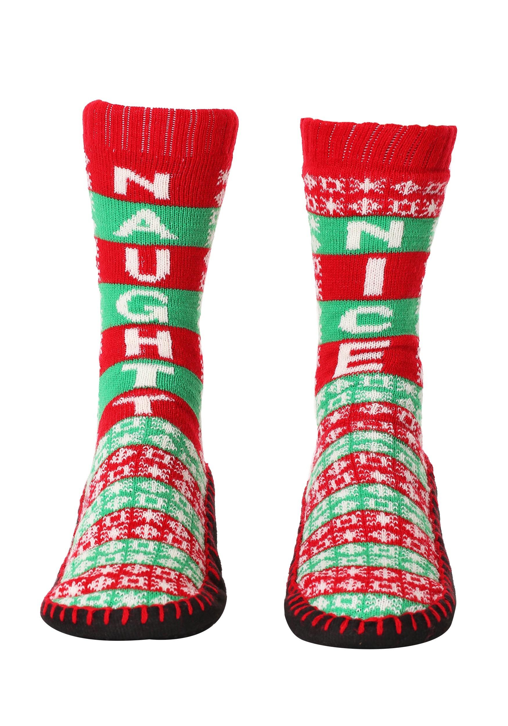 Childrens Chrstmas Slipper Socks Boys Girls Xmas Socks Choice of Size /& Design