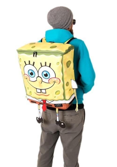 Adults Spongebob Squarepants Character Backpack