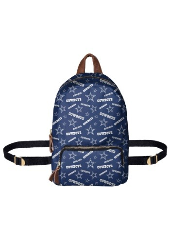 Dallas Cowboys Printed Collection Mini Backpack-update1