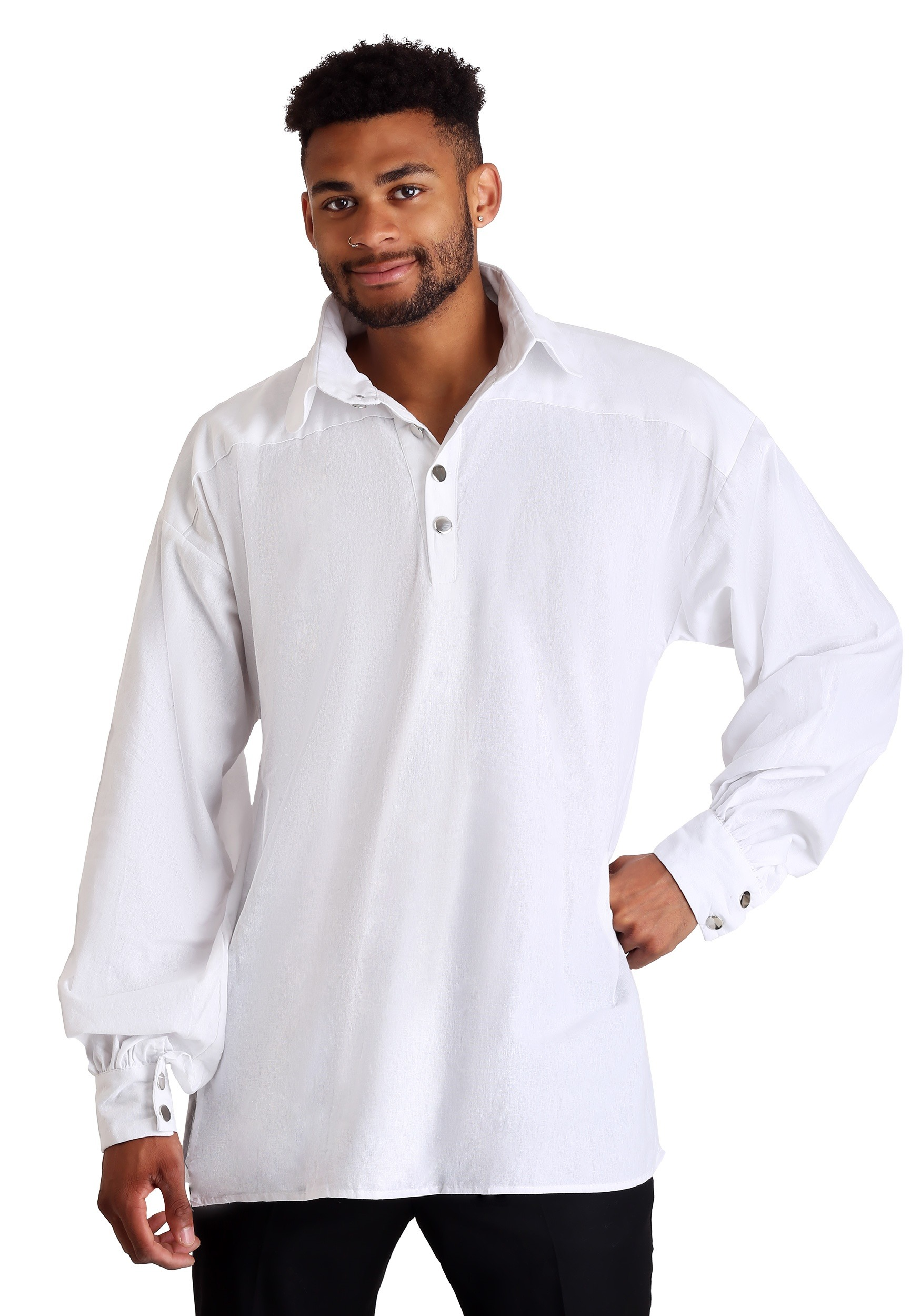 Mens Renaissance Shirt - Pirate Shirt - Peasant Shirt for Medieval Fair Costume / Renaissance Costume FP4XCd6lB