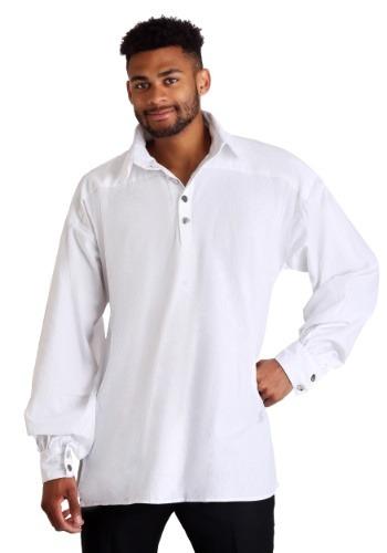 Mens White Renaissance Shirt Main Update