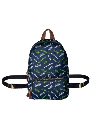 Seattle Seahawks Printed Collection Mini Backpack-update1