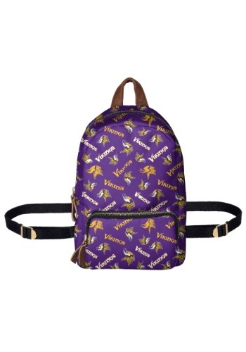 Minnesota Vikings Printed Collection Mini Backpack-update1