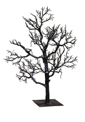 "32"" Black Twig Creepy Tree"