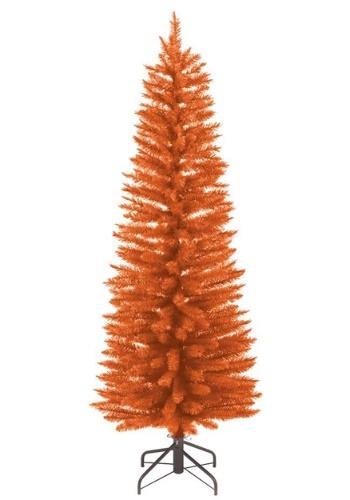 3 Foot Pre-Lit Orange Halloween Tree