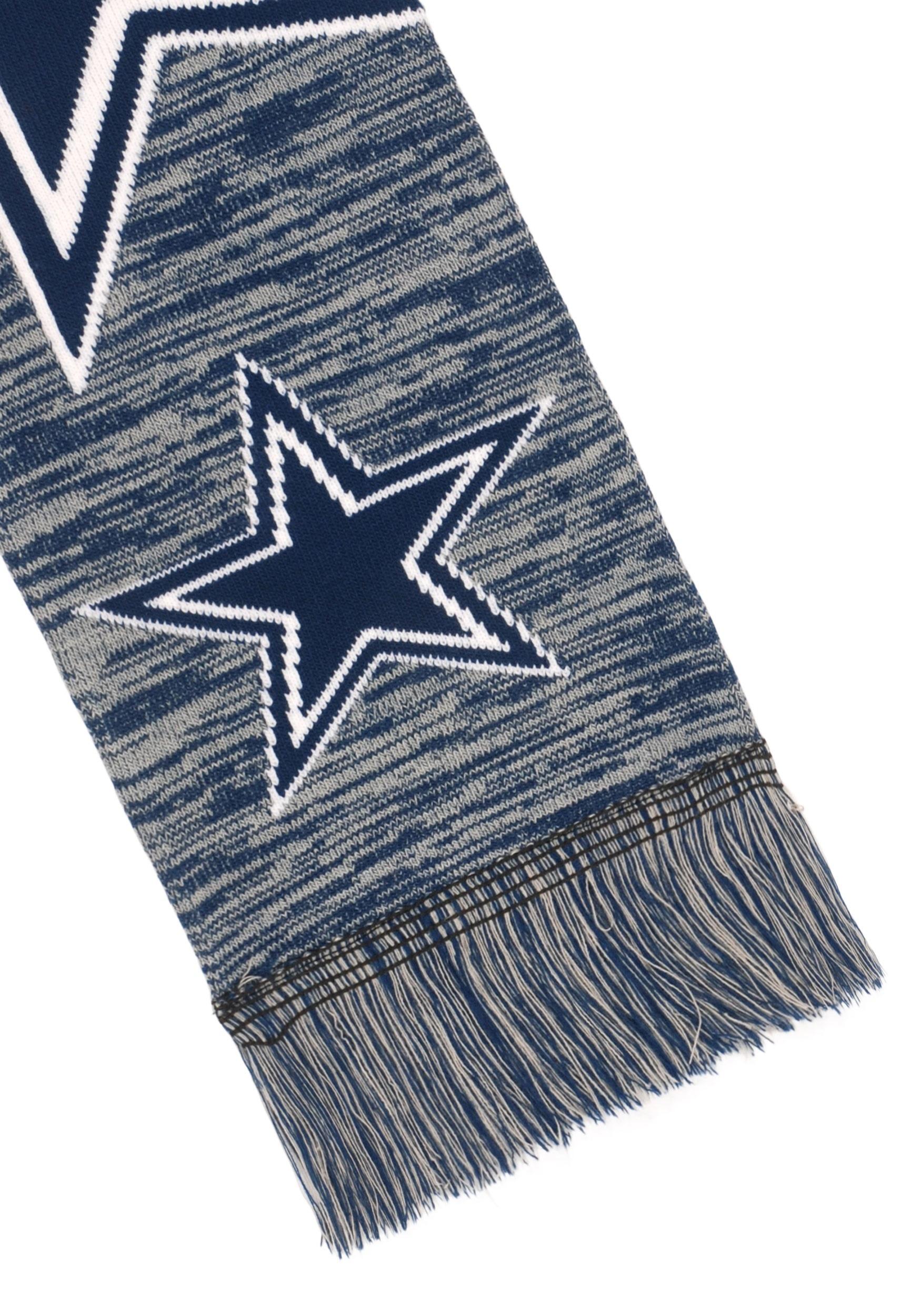 b768ef1e Dallas Cowboys Wordmark Big Logo Colorblend Scarf