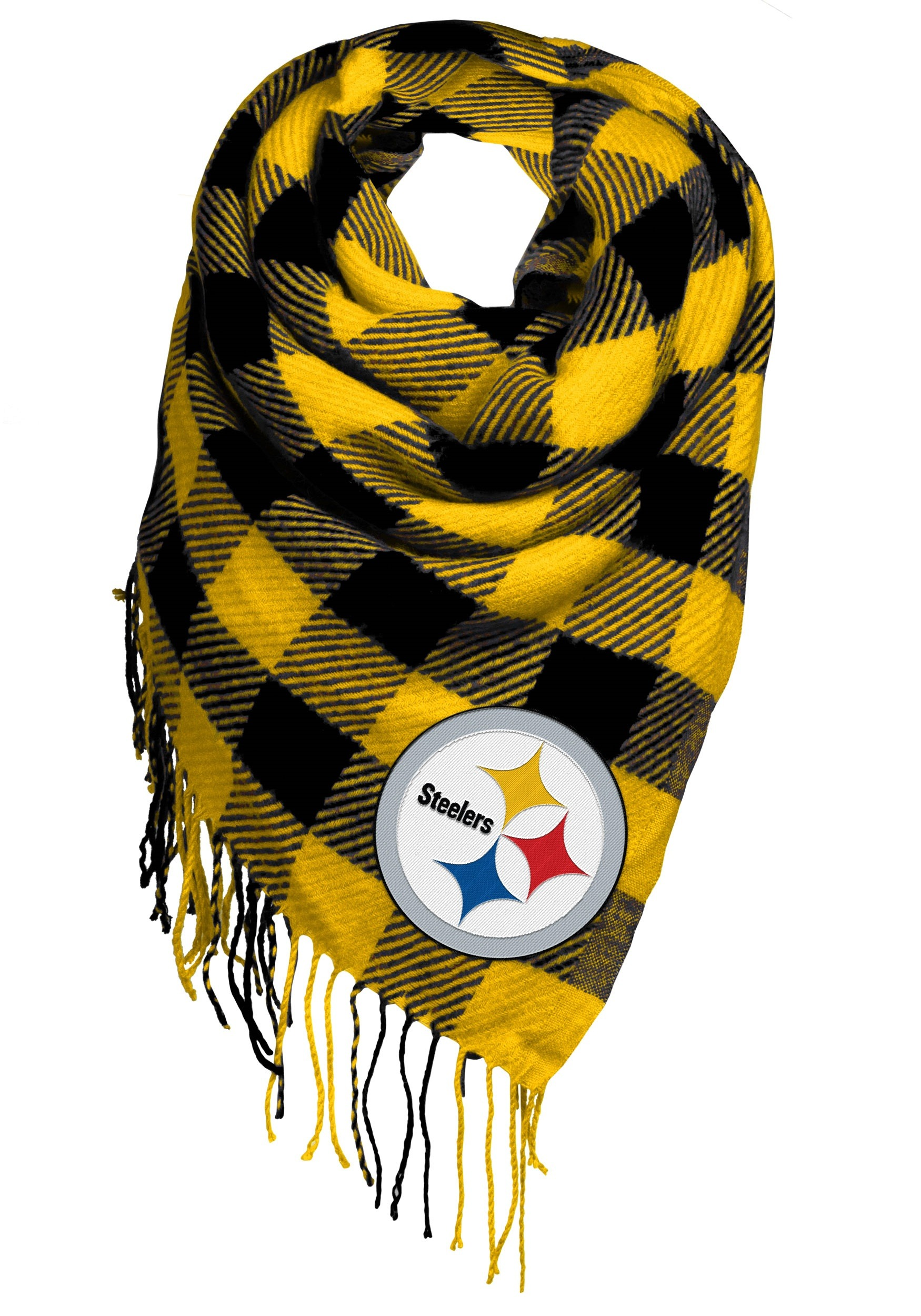 c7e39afc Pittsburgh Steelers Women's Oversized Scarf
