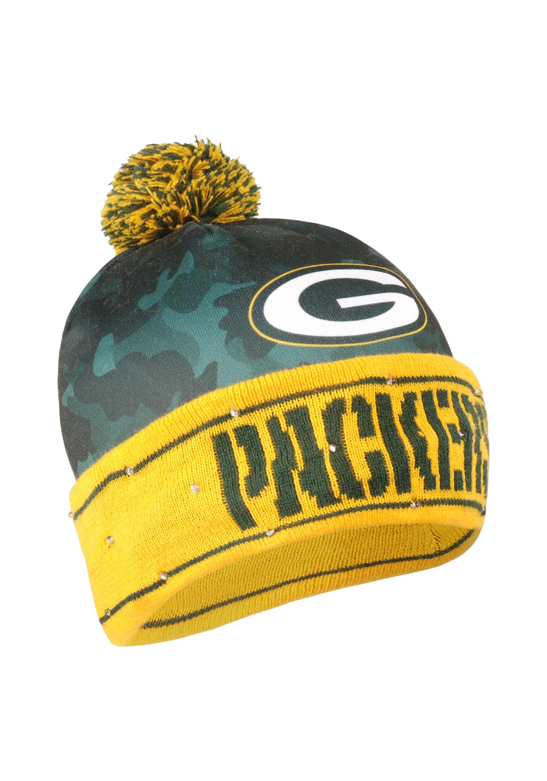 0e2eb3535ed Nfl green bay packers camouflage light up printed stocking hat jpg  1750x2500 Camouflage packer stocking hat