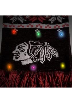 Chicago Blackhawks Light Up Scarf alt 2
