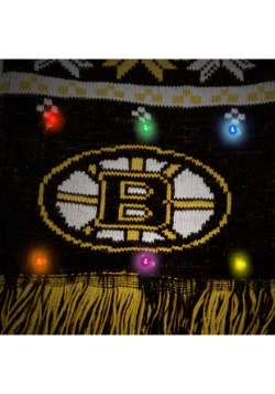 Boston Bruins Light Up Scarf alt 2