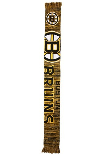 Boston Bruins Wordmark Big Logo Colorblend Scarf Update Main