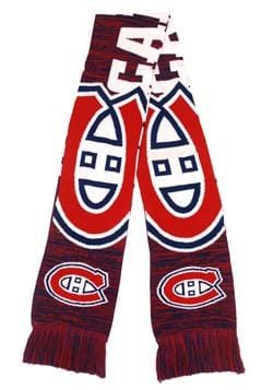 Montreal Canadiens Wordmark Big Logo Colorblend Scarf