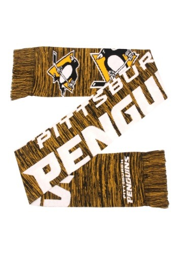Wordmark Big Logo Pittsburgh Penguins Colorblend Scarf