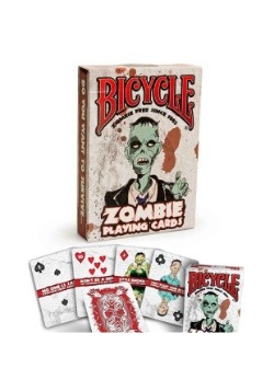 Zombie Bicycle Playing Cards