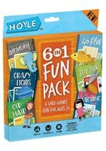 Childrens 6 in1 Card Game Pack