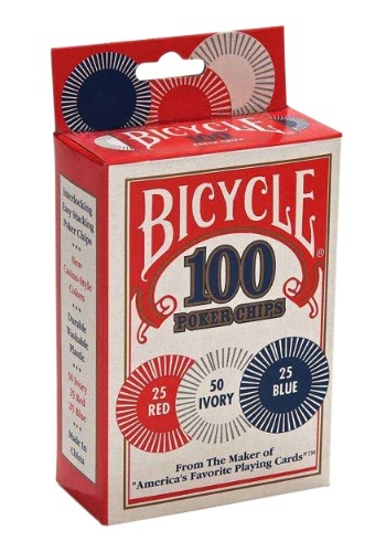 Bicycle 100 Poker Chipsupdate