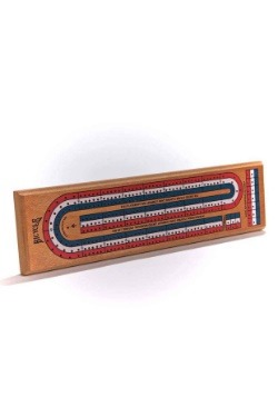 Bicycle Regulation Cribbage Board