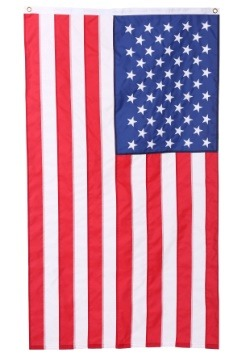 US Embroidered Nylon Flag - 3' x 5'