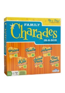 Family Charades In-a-Box Compendium Party Game