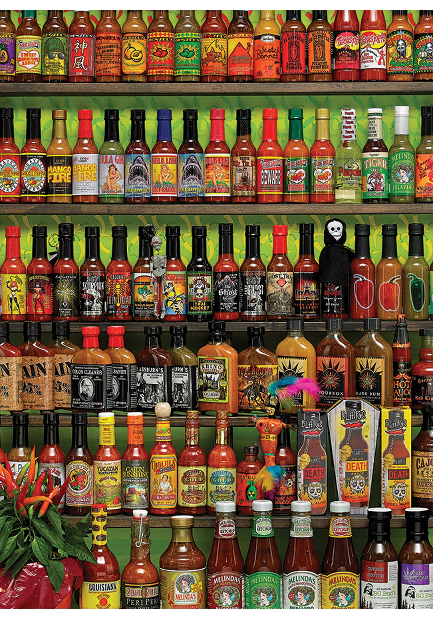 cobble hill puzzle  1000 Piece Hot Hot Sauce Cobble Hill Puzzle