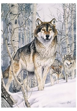 Second Glance 1000 Piece Cobble Hill Wolf Puzzle