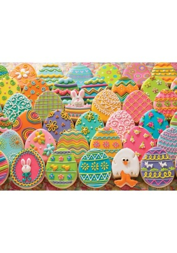350 Family Pieces Easter Egg Cookies  Cobble Hill Puzzle