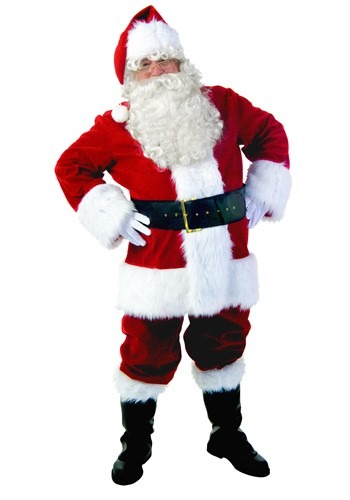 Premium Santa Suit Costume Update Main