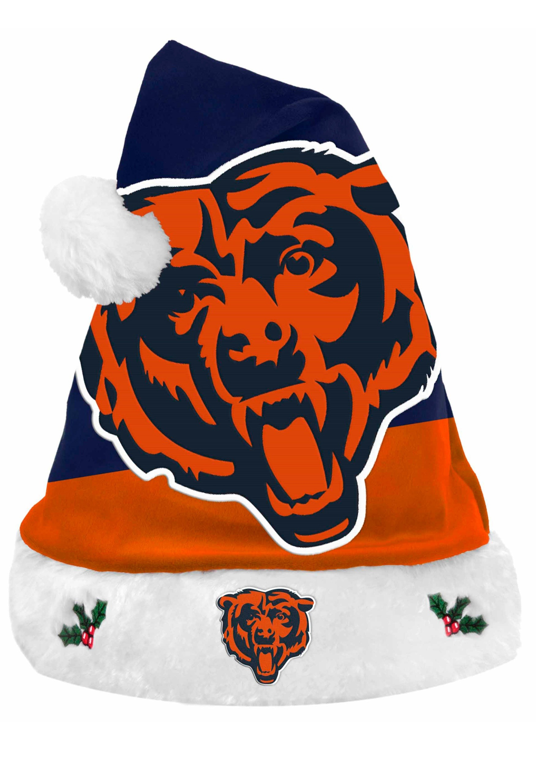 NFL Chicago Bears Santa Hat