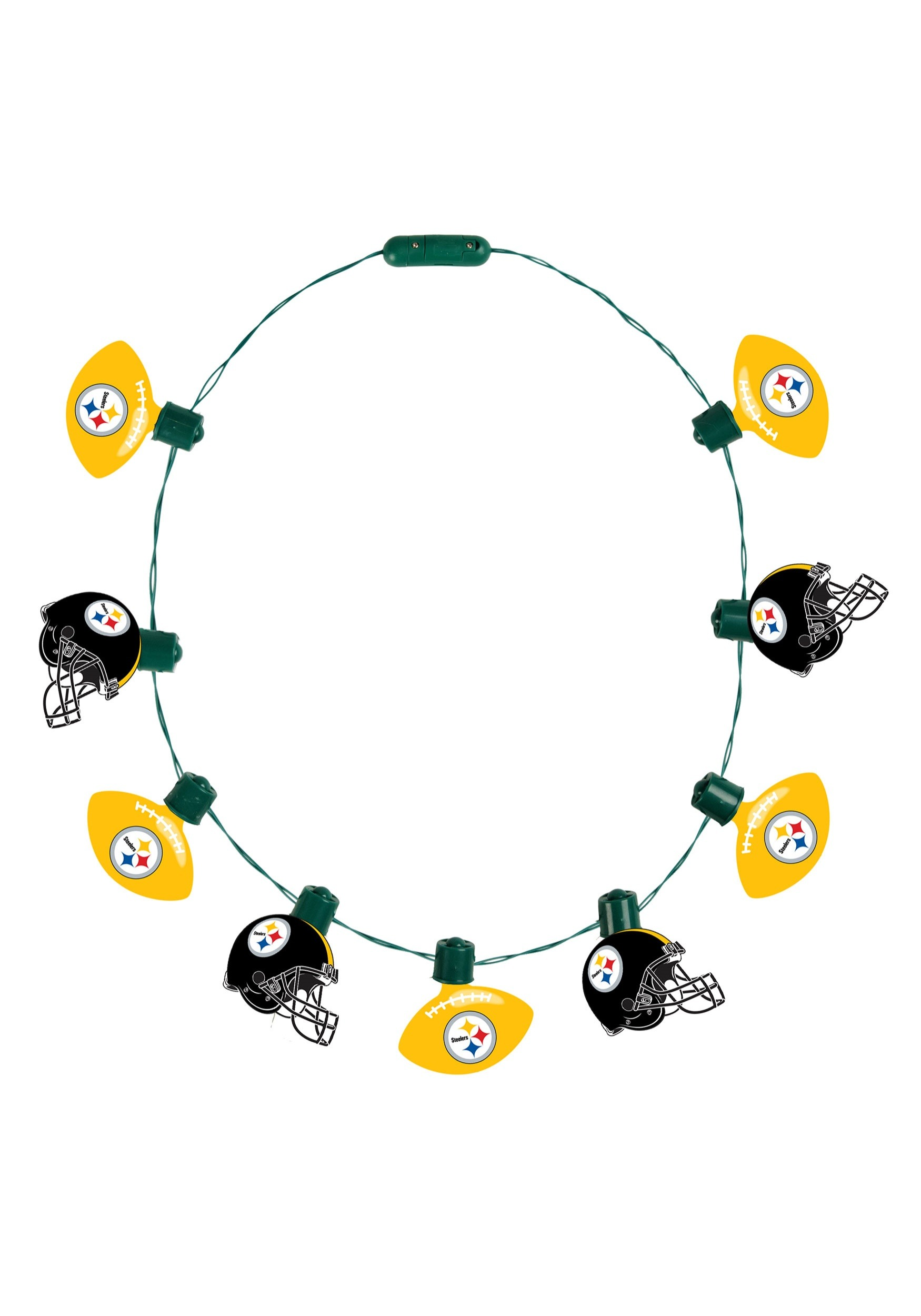 NFL Pittsburgh Steelers Light Up Necklace c78fe8614