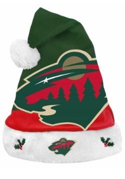 Minnesota Wild Santa Hat