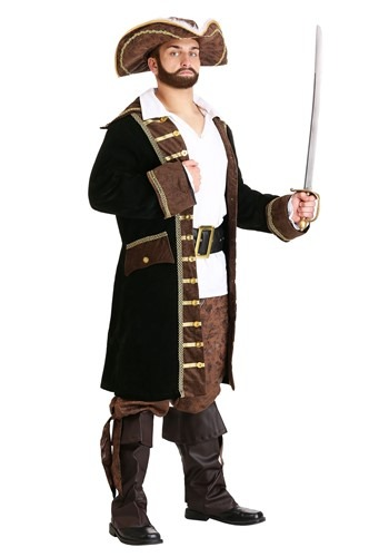 Realistic Pirate Costume For Men