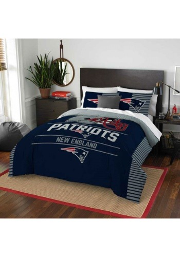 New England Patriots Full Queen Bedding