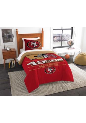 San Francisco 49ers Twin Comforter Update1