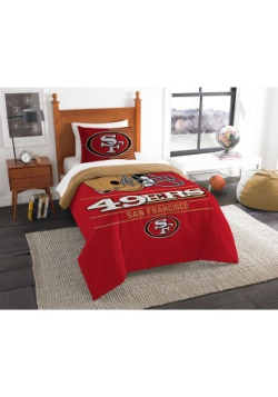 San Francisco 49ers Twin Comforter Update1