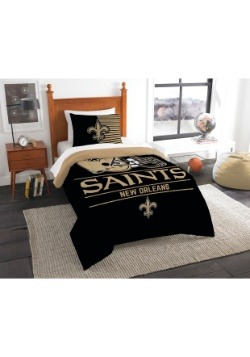 New Orleans Saints Twin Comforter