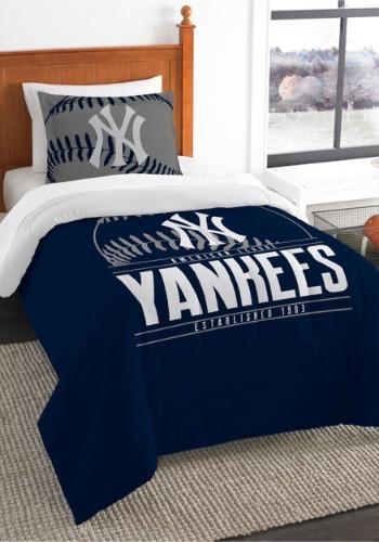 Twin New York Yankees Comforter