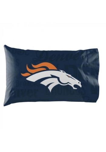 Denver Broncos Pillow Cases