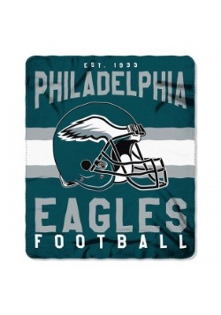 NFL Philadelphia Eagles Singular Fleece Throw