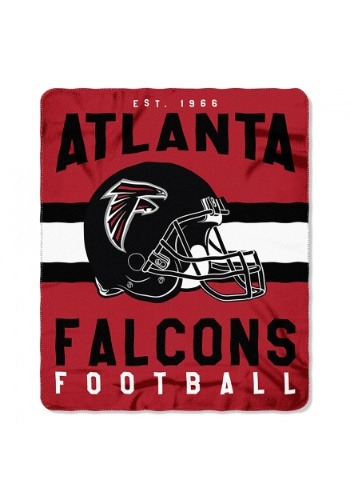Atlanta Falcons NFL Singular Fleece Throw