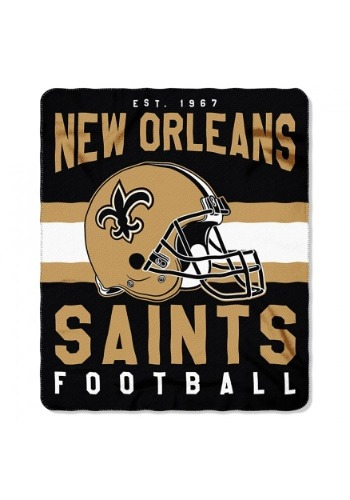New Orleans Saints NFL Singular Fleece Throw