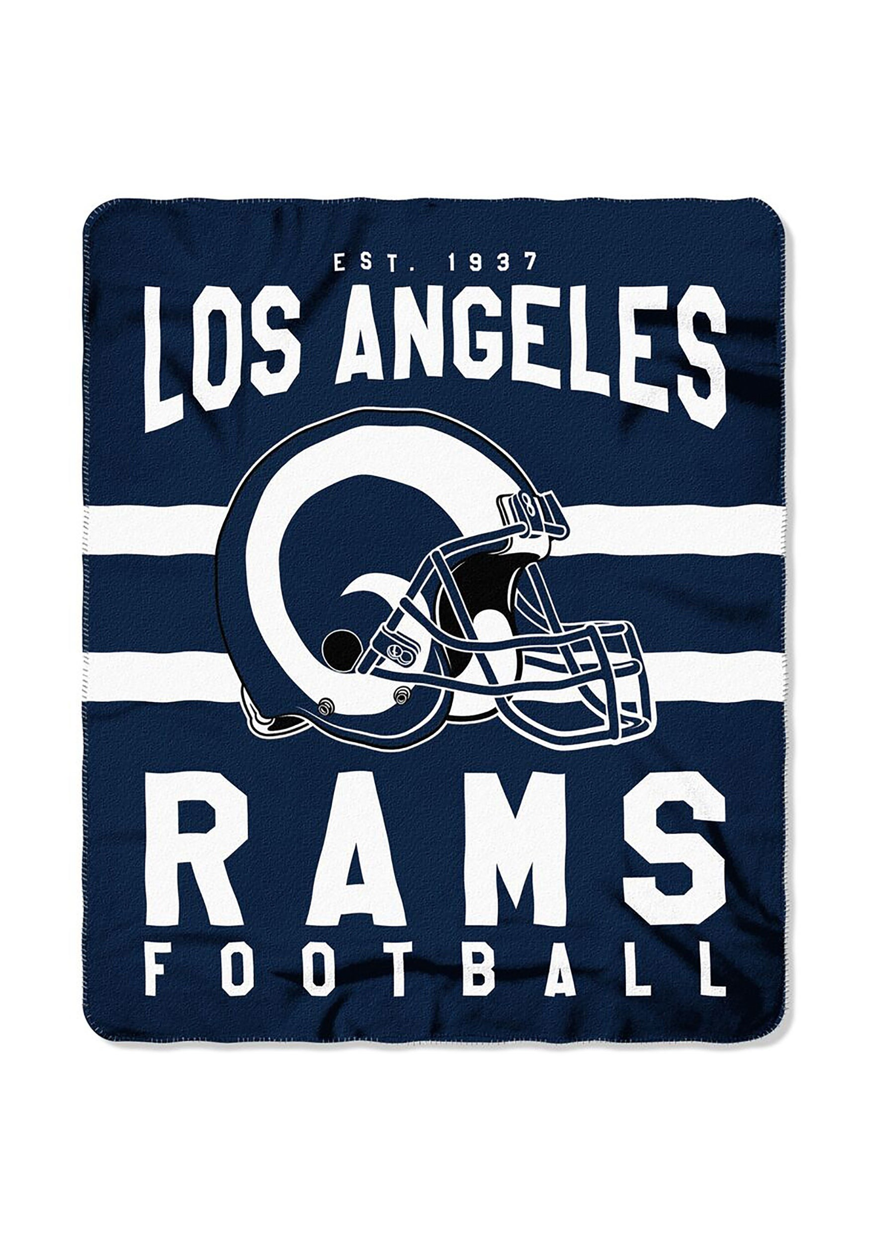 f083ae7f Los Angeles Rams NFL Singular Fleece Throw